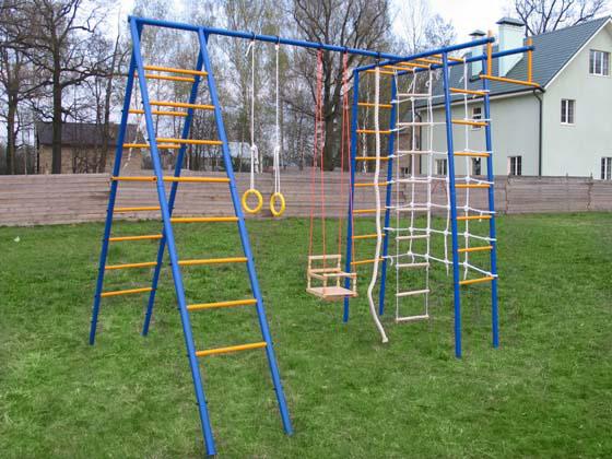 Как сделать детский спортивный городок