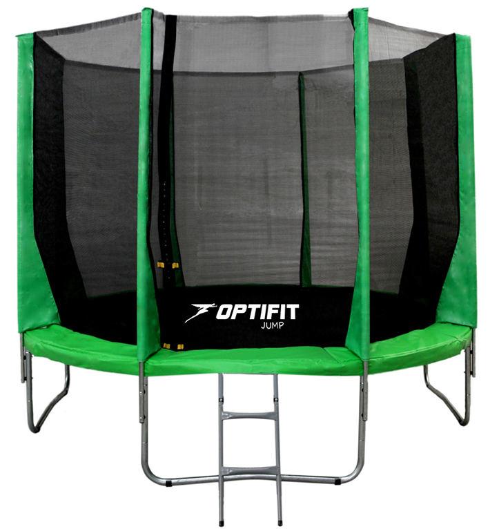 OptiFit Батут Jump 12 футов (3,66 м), зеленый